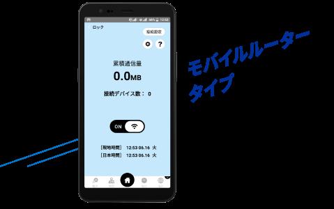 モバイルルータータイプ(DOR01)